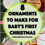 Baby's First Christmas Ornaments You Can Make Yourself
