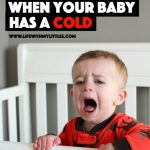 What to Do When Your Baby Has a Cold