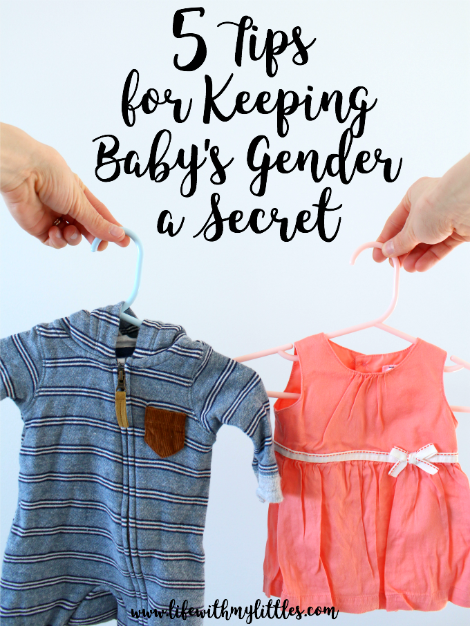 5 Tips for Keeping Your Baby's Gender a Secret