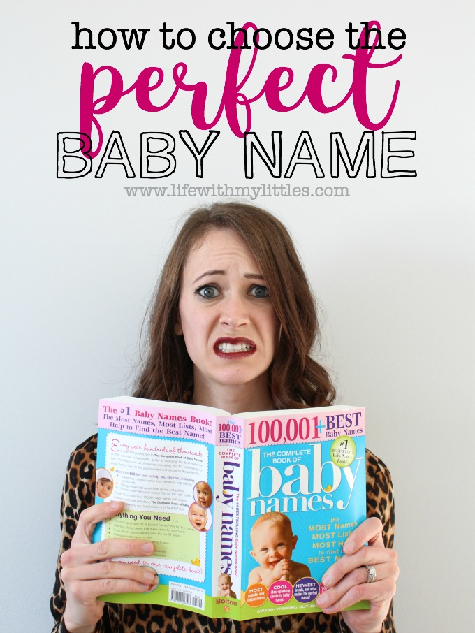 How to Choose the Perfect Baby Name