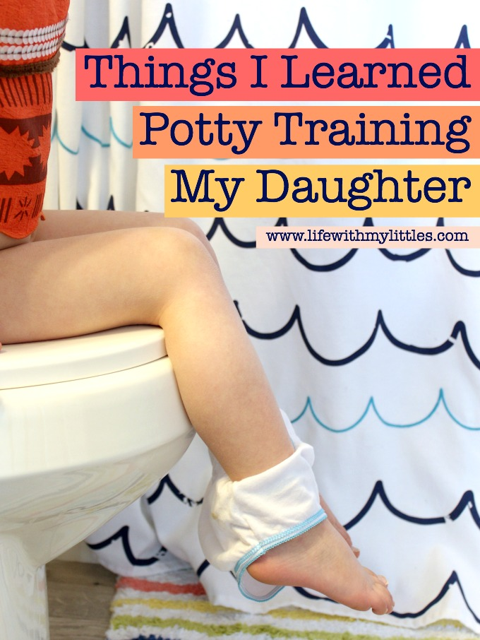 Things I Learned Potty Training My Daughter