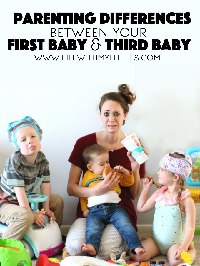 Parenting Differences Between Your First Baby and Third Baby