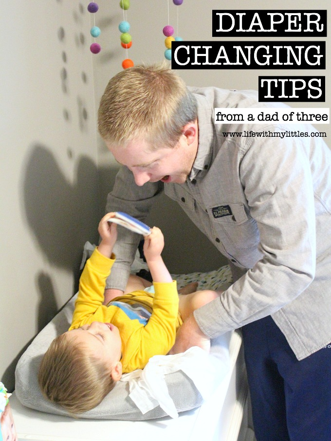 Here's a fun post from a dad's perspective! Diaper changing tips from a dad of three! A must-read for new fathers!