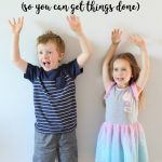 Ways to Occupy Your Kids Without TV (So You Can Get Things Done!)