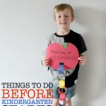 Things to Do Before Kindergarten Starts