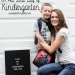A Letter to my Son on His First Day of Kindergarten