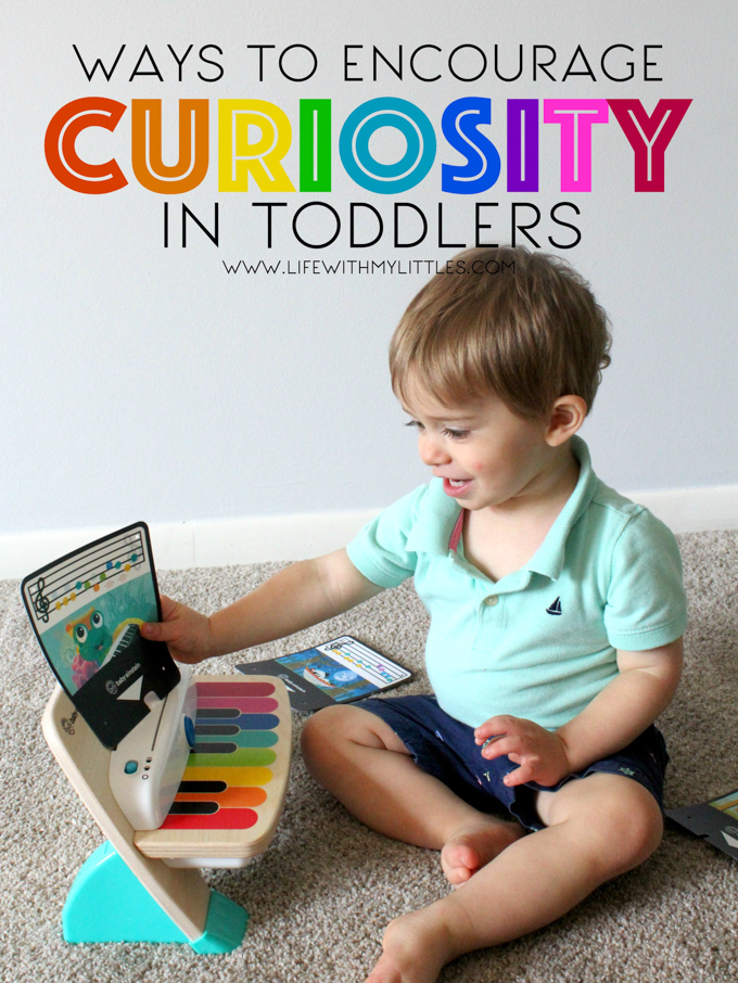 Curiosity is such an important quality to inspire in our kids! Here are nine easy ways to encourage curiosity in toddlers!
