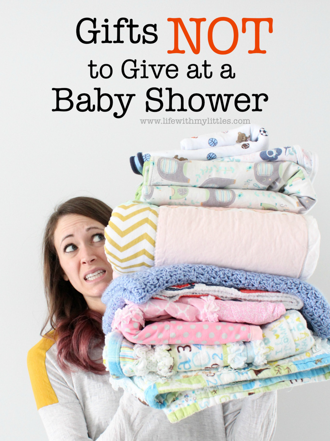 Have a unique or clever idea idea for a baby shower gift? Make sure it's not on this list of gifts not to give at a baby shower first! Avoid these 9 gifts and you'll make the mama-to-be very happy!