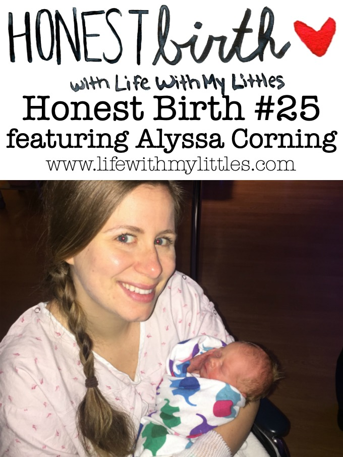 Honest Birth #25 featuring Alyssa Corning