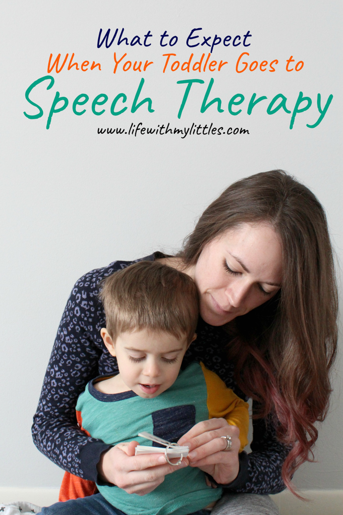 What to Expect When Your Toddler Goes to Speech Therapy
