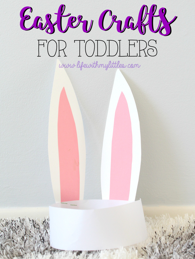 Over 15 adorable and simple Easter crafts for toddlers! These are so perfect for little hands to make. If you're looking for crafts for toddlers to do leading up to Easter, look no further!