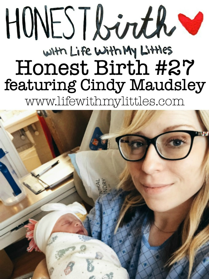 Mama Cindy Maudsley shares the hospital birth story of her third baby on the Honest Birth birth story series! Cindy has struggled with infertility all 12 years of her marriage. After getting pregnant via IVF, Cindy planned on having a VBAC. She was induced at 39 weeks and after a stressful labor process, had a successful vaginal delivery!