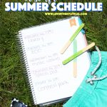 Our Simple Summer Schedule