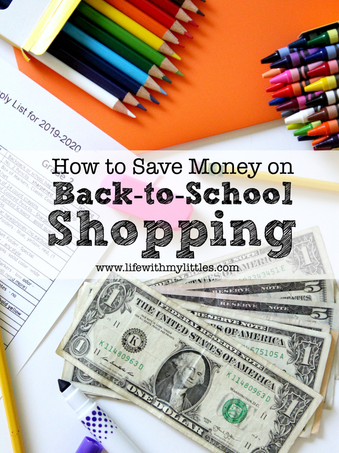 How to Save Money on Back-to-School Shopping