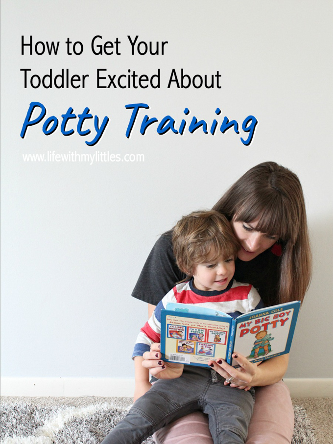 How to Get Your Toddler Excited About Potty Training