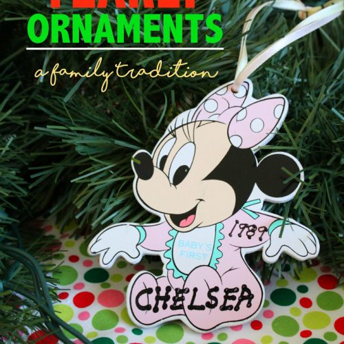 Looking for a long-lasting family Christmas tradition? Try yearly ornaments! It's fun, it's easy, and they last for years!
