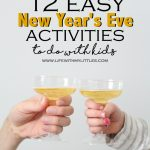 12 Easy New Year's Eve Activities to do with Kids