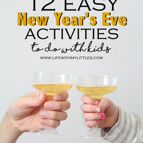 Looking for some fun and easy New Year's Eve activities to do with kids? Here are twelve ideas you'll all get excited about!