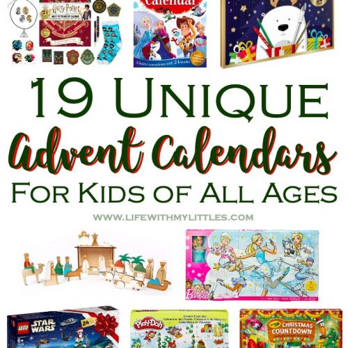 19 unique advent calendars perfect for everyone on your Christmas list! So many fun advent calendars for every interest in your family!