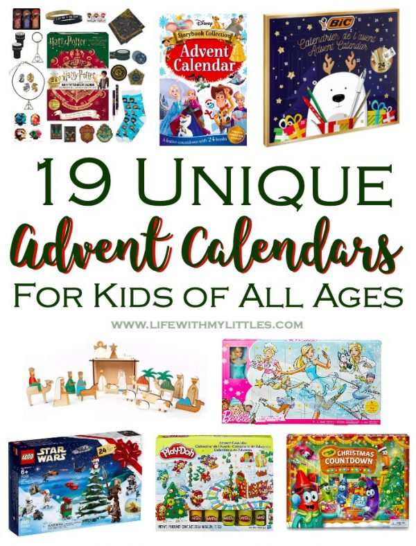 19 Unique Advent Calendars