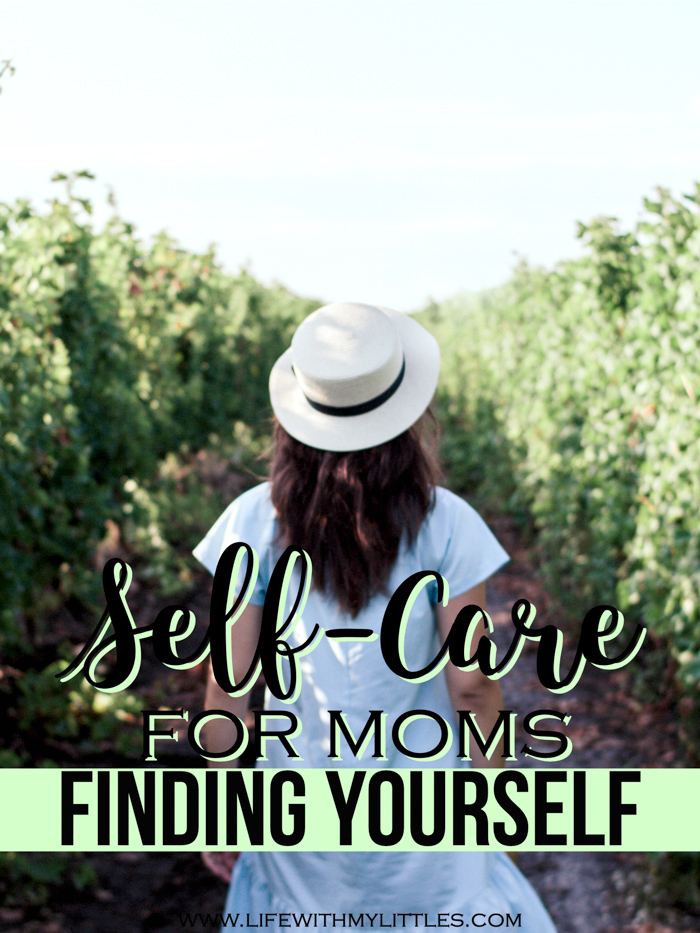 If you've lost yourself along the journey of motherhood, that's okay. Part of self-care is taking care of ourselves as more than moms, but to do that, we need to remember who we are! Here are a few self-care ideas for finding yourself again!