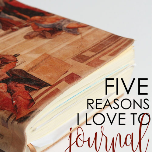 Here are five reasons why I love to journal, plus an inside look at the free guided journaling app for mental wellbeing, DiveThru!