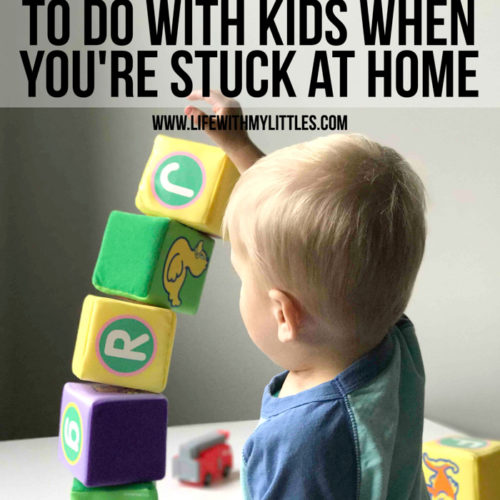 Stuck inside with nothing to do? Whether you're social distancing, quarantined because of illness, or you're inside because of bad weather, here are 17 screen-free things to do with kids when you're stuck at home.