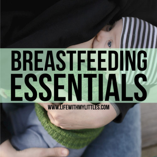 This complete list of breastfeeding essentials has it all! Everything you might need to comfortably and easily breastfeed your baby. Such a helpful list, written by a mom who nursed three babies!