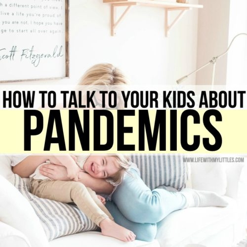 How to talk to kids about pandemics in an age-appropriate, non-scary way. Great tips if you're not sure where to start talking about the spread of disease with your kids!