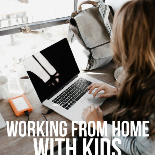 Working from home with kids is a challenge many moms are suddenly facing right now. It's hard, but it's definitely doable! Here are eleven tips for working from home with kids to help you figure out how to manage motherhood and work, written by a mama who's worked from home for almost seven years.
