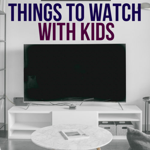 These 10 things to watch with kids are such a great alternative to regular TV you might be burned out on! Check out this great resource while you're stuck at home and find something besides TV shows and movies to watch with your kids!