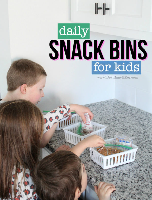 Daily Snack Bins for Kids