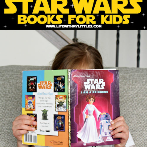These 24 Star Wars books for kids are sure to put a smile on your little padawan's face! A great collection of kid-friendly Star Wars books for the new or life-long fan!