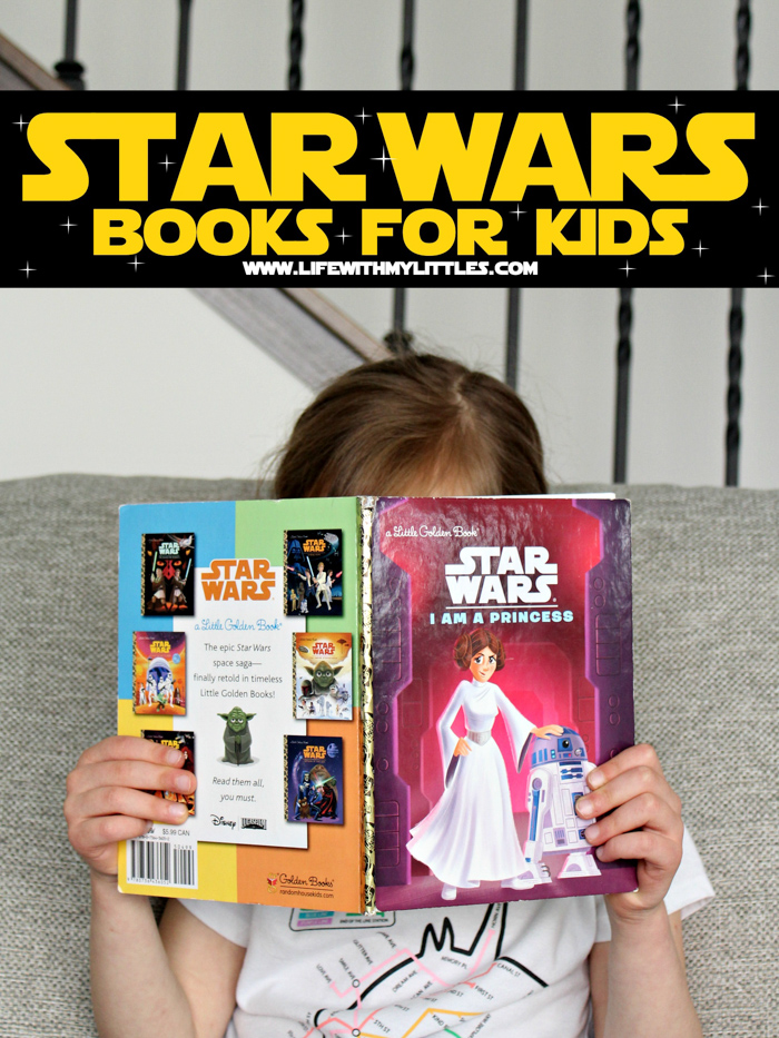 These 24 Star Wars books are sure to put a smile on your little padawan's face! A great collection of kid-friendly Star Wars books for the new or life-long fan!