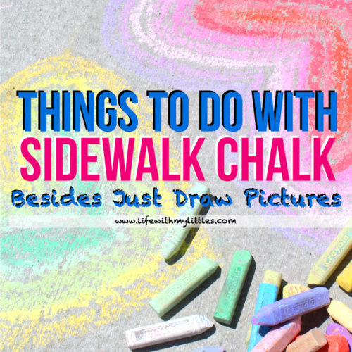 This list of 19 things to do with sidewalk chalk (besides just draw pictures) is such a great resource for summer! Great, creative ideas and plenty of activities to keep parents and kids of all ages busy outside!