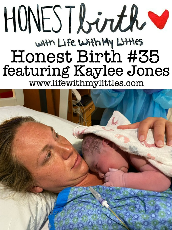 Mama Kaylee Jones shares the hospital birth story of her third baby on the Honest Birth birth story series! Kaylee gave birth during the coronavirus pandemic at 39 weeks. She went into labor on her own, but was given a small amount of Pitocin to help move labor along. After pushing through one contraction, her son was born!