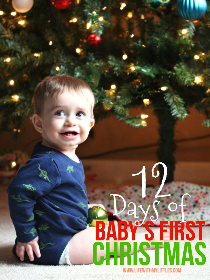 Baby's first Christmas? Here are 12 fun things to do with your baby to make their first Christmas special and memorable!