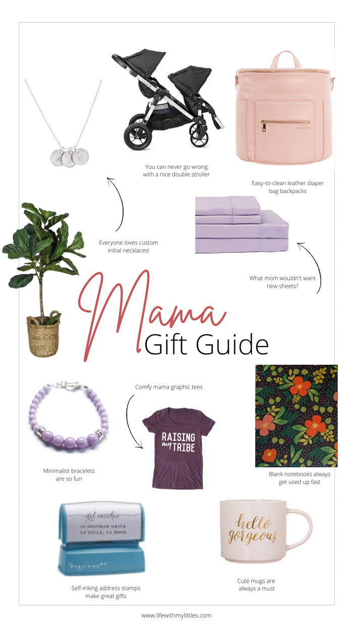 These Christmas gift ideas for moms are awesome! If you can't figure out what you want, or you can't decide what to get the mom in your life, look here!
