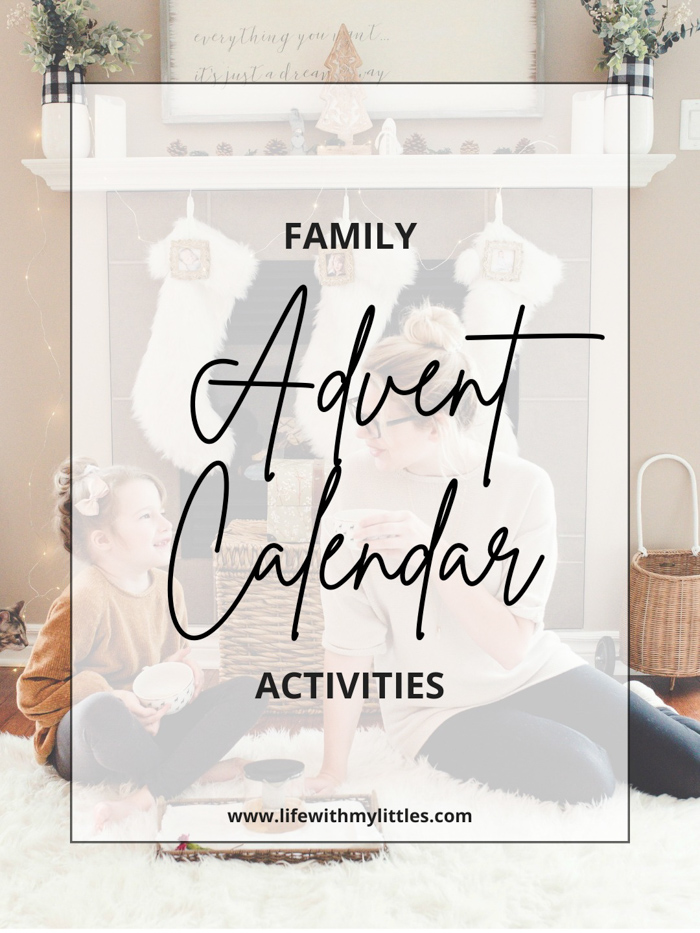 35+ advent calendar activities ideas for the whole family! Especially great for families with toddlers or young kids. Enough fun to last you all December!