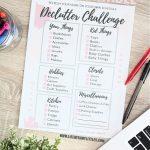 Declutter Challenge Printable