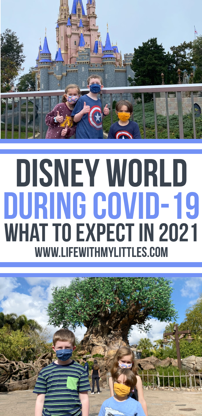 What is Disney World like during COVID-19? Here's a great post with all the information you need to know if you travel to Disney World in 2021!