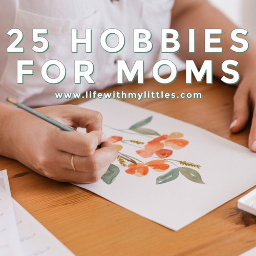 Not sure what you enjoy anymore? Looking for a new hobby to try? Here's a great list of 25 hobbies for moms!