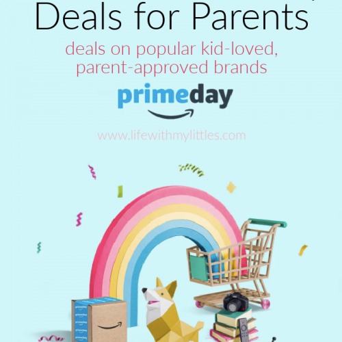 A great list of Amazon Prime Day Deals for parents! The top parent-approved, kid-loved brands, on sale for up to 40% off!